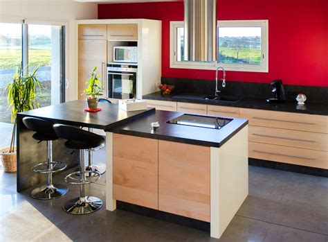 cuisine aménagé élégance bois artisan créateur cuisine salle de bain