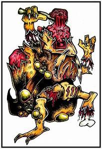 NEW ZOMBIE POKEMON   DARYL HOBSON ARTWORK  Zombie