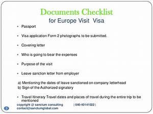 europe visit visa sanctum consulting With documents checklist for uk visa