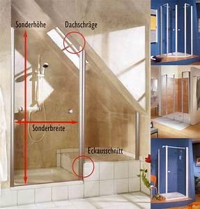 Dusche In Dachschräge Einbauen : duschkabine u duschabtrennung in m nchen duschwand ~ Markanthonyermac.com Haus und Dekorationen