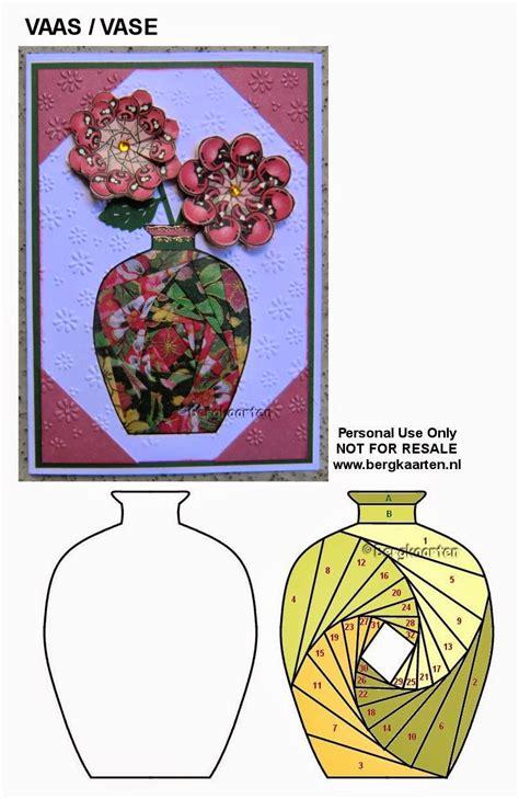 irisvouwen vase