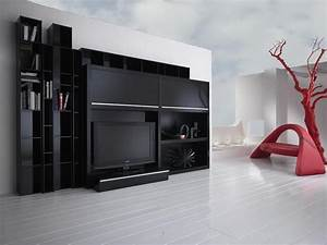 MEUBLE TV COMPOSABLE DE STYLE CONTEMPORAIN DE CHEZ