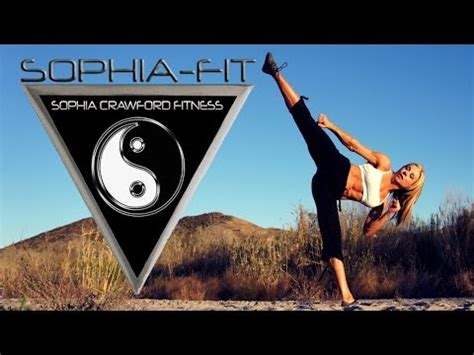 SOPHIA CRAWFORD workout and commentary - YouTube