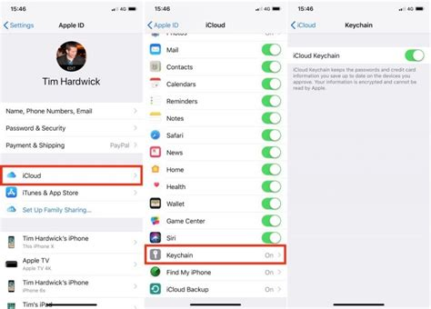 how to use keychain how to use icloud keychain on your ios devices macrumors