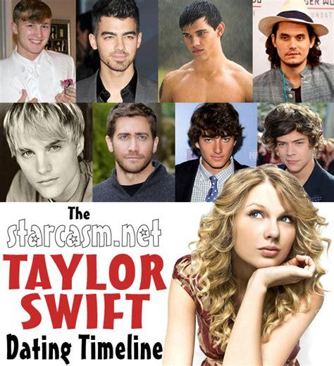 taylor swift dated  boyfriends list