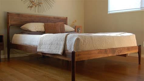1942 mid century king bed mid century modern bed frame diy