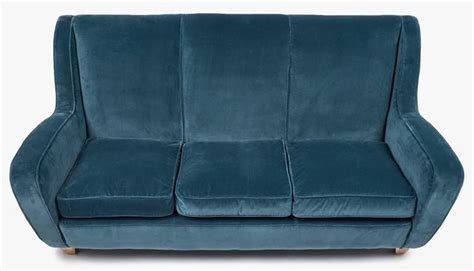 Italian Vintage Poltrona Frau Sofa For Sale At 1stdibs