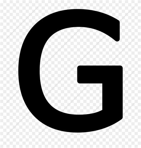 Library of letter g vector black and white png files ...