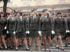 Nordic Blonde in Offic...Russian Female Soldiers