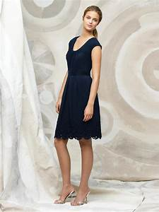 navy blue bridesmaid dress with sleevescherry marry With navy blue dress for wedding