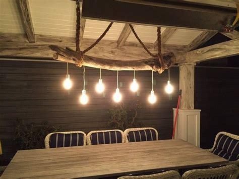 Lampe bois flotté, lampadaire et suspension par la Nature