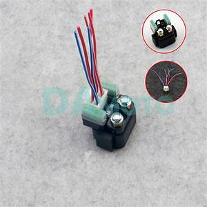 Motor Starter Relay Solenoid Cable Plug For Yamaha Grizzly Yfm660 Yxr Rs Fz400 Fz 1 Fz 6 Fzs600