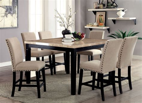 dodson ii black counter height dining room set cmpt
