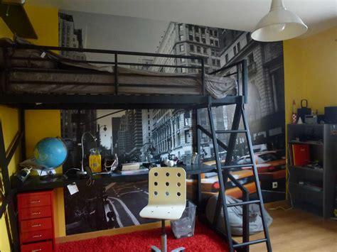 deco york pour chambre idee deco chambre garcon ado collection et deco chambre