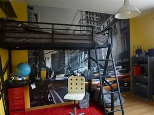 idee deco chambre garcon ado collection et deco chambre With deco new york pour chambre