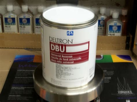 ppg deltron paint dbu3800 gm code wa8624 olympic white