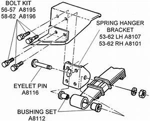 Rear Suspension Spring - Diagram View