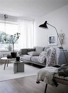 Beautiful, Scandinavian, Apartment, With, Cozy, Details
