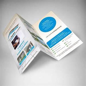 Dépliant 2 Volets : impression en ligne d pliant 3 volets immobilier pas cher ~ Melissatoandfro.com Idées de Décoration