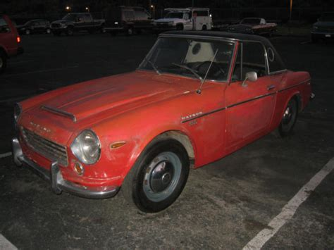 Datsun 1600 Roadster Parts by 1969 Datsun Roadster 1600 Spl311