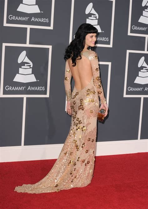 Red Carpet Dresses: Katy Perry - Grammy Awards 2010