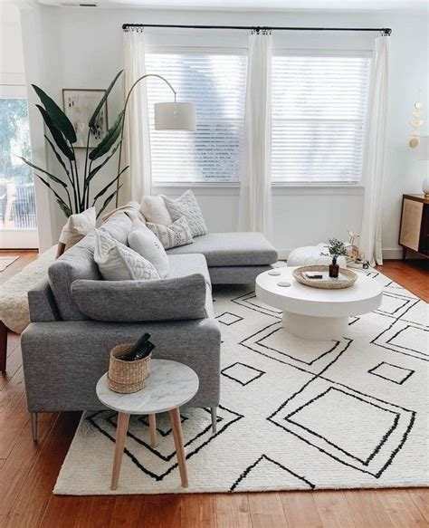 A Mid Century Inspired Apartment With Modern Geometric Accents by Opt For Geometric Details And Classic Neutral Pieces For