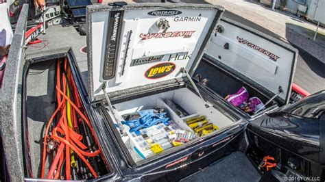 Bass Boat Organization Ideas by How The Rolls Flw Fishing Articles