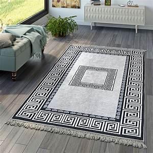 Teppiche Für Den Flur : wohnzimmer teppich orient teppiche print design bord re versace muster grau orientteppich ~ Sanjose-hotels-ca.com Haus und Dekorationen