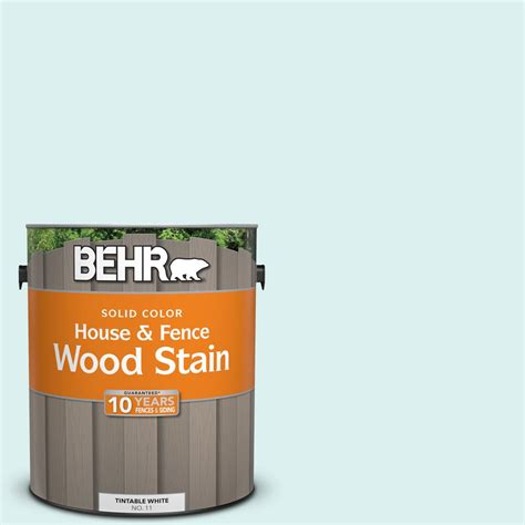 behr  gal   water mark solid color house  fence