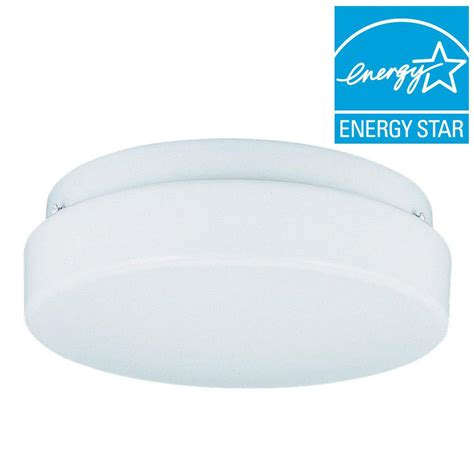 sea gull lighting 2 light white fluorescent ceiling
