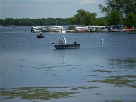 Lake Delavan Boat Launch by Delavan Lake Fishing Information Links Delavan Lake