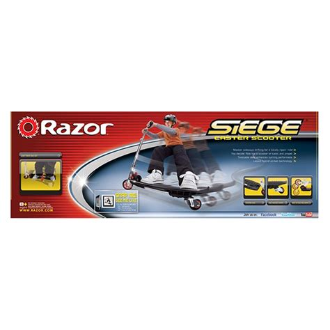 siege scooter occasion razor siege caster scooter boxed ebay