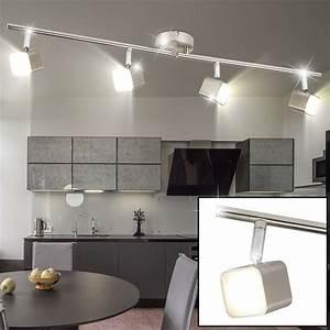 Led Lampen Für Küche : led deckenlampe mit vier beweglichen spots f r ihre k che lampen m bel innenleuchten ~ Eleganceandgraceweddings.com Haus und Dekorationen