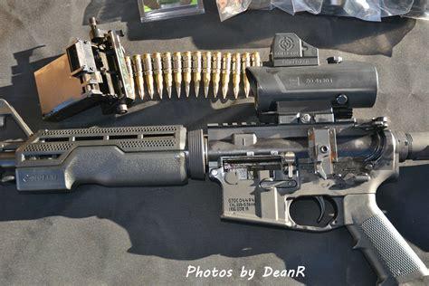2014 Shot Show Slide Fire Bfr Belt Fed Rifle