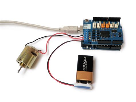 tutoriel diy debuter avec le module moteur arduino