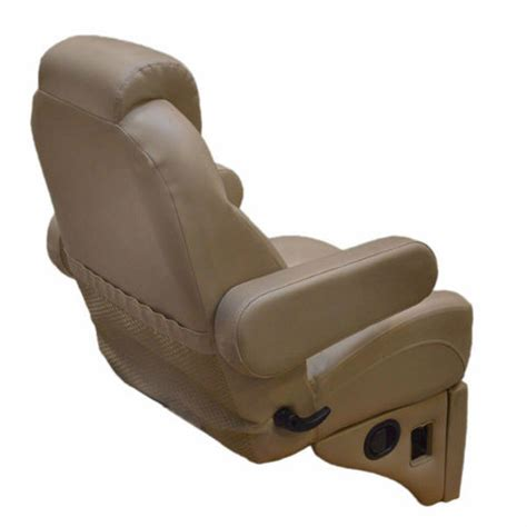 captains chairs for boats uk harbor reclining pontoon boat captains chair w