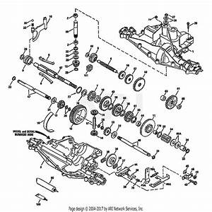 Troy Bilt 34036 5 5hp  Std  22 U0026quot  Cut  S  N 01    Parts Diagram For Peerless Transaxle 915