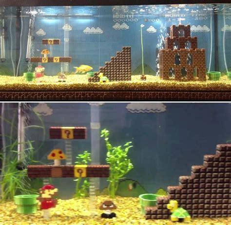 Wars Themed Aquarium Safe Decorations by Mario Lego Aquarium Decoration Awesome But Probably A