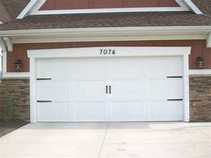 Carriage house garage door hardware new home design for Carriage style garage doors kit