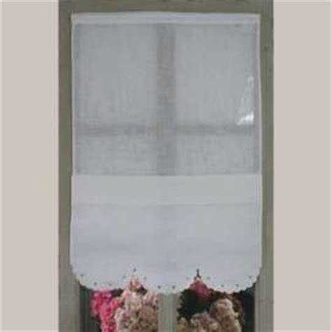 rideau coeur ajour 233 en lin blanc cotonnades de mathilde