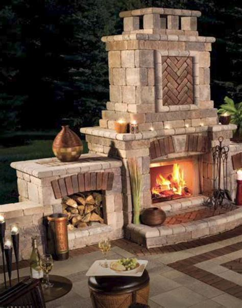 unilock tuscany fireplace tuscany fireplace elements ground effects outdoor living llc