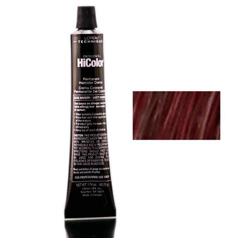 hi color loreal l oreal technique excellence hicolor h23 black