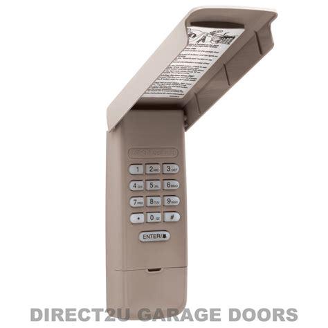 garage door opener keypad liftmaster garage door openers 877max wireless keypad ebay