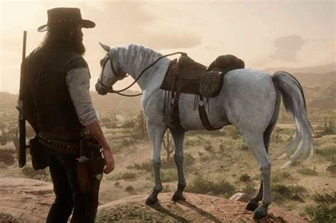 horse arabian redemption dead rdr2 wild map finding games easy