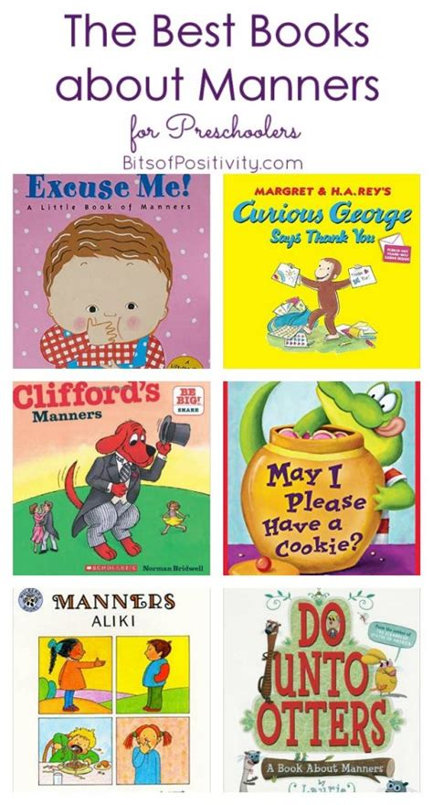 what are the best books for preschoolers the best books about manners for preschoolers bits of 634