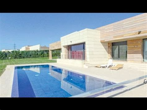 cristiano ronaldo house  madrid celebrity homes youtube