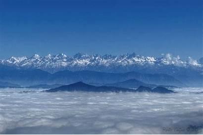 Himalayas Himalaya Above Cloud Nepal Wikipedia Commons
