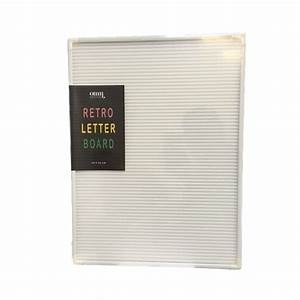 leo bella omm design white retro letter board With retro letter board