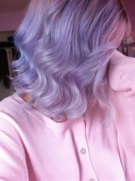 1000 Ideas About Short Lavender Hair On Pinterest Short