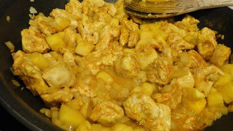 recette facile pour 233 tudiants n 176 9 poulet curry fastgoodcuisine